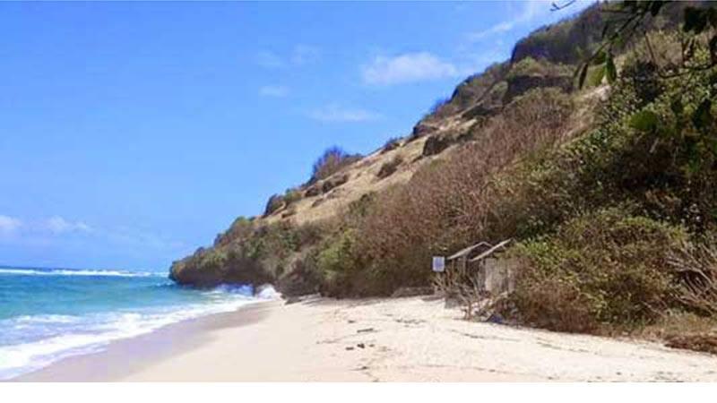 bali beach gunung payung