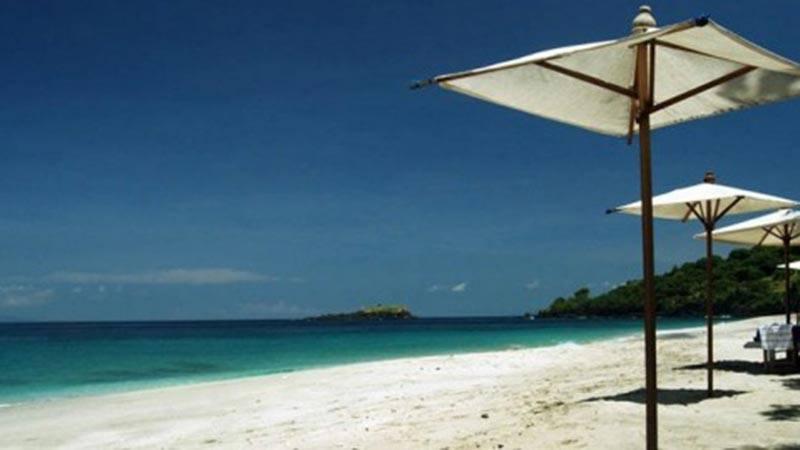 white sand beach bali