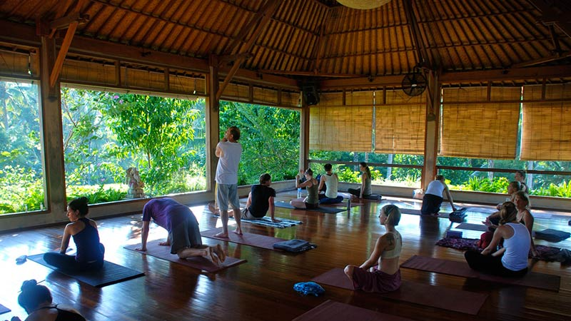ubud bali the yoga barn