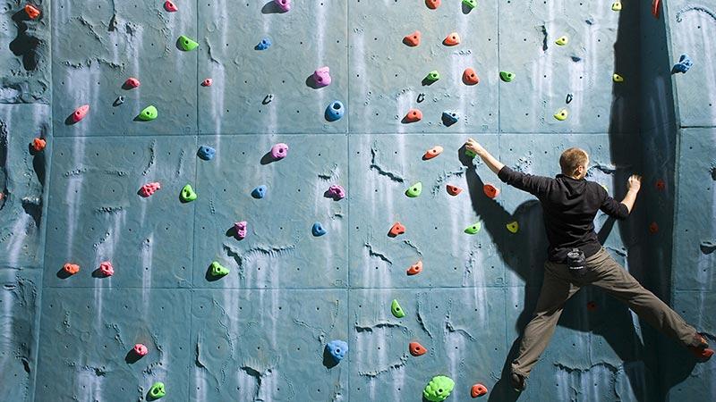 climbing wall bali