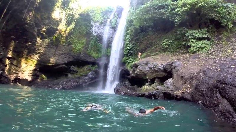 bali waterfall aling aling