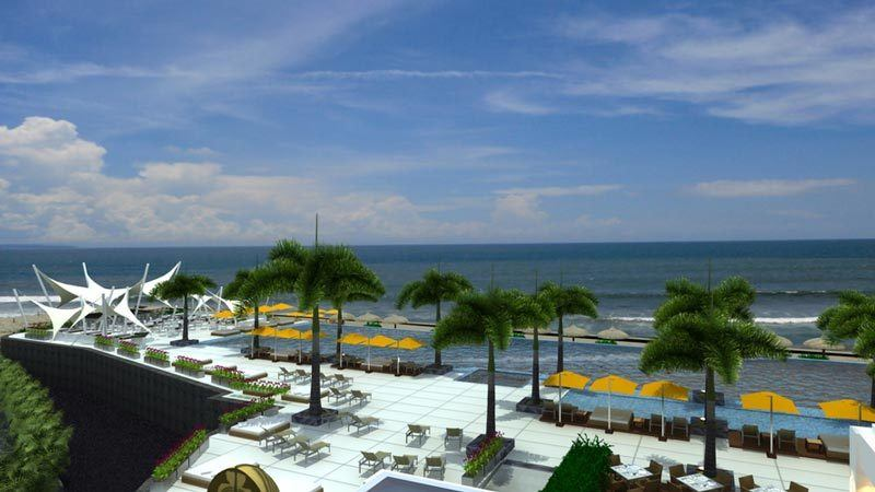 Bali beach clubs: Vue is one of the lesser know beach clubs in bali