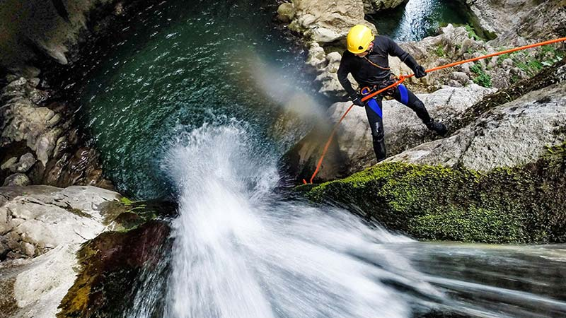 Bali must try activities: Canyoning in North Bali