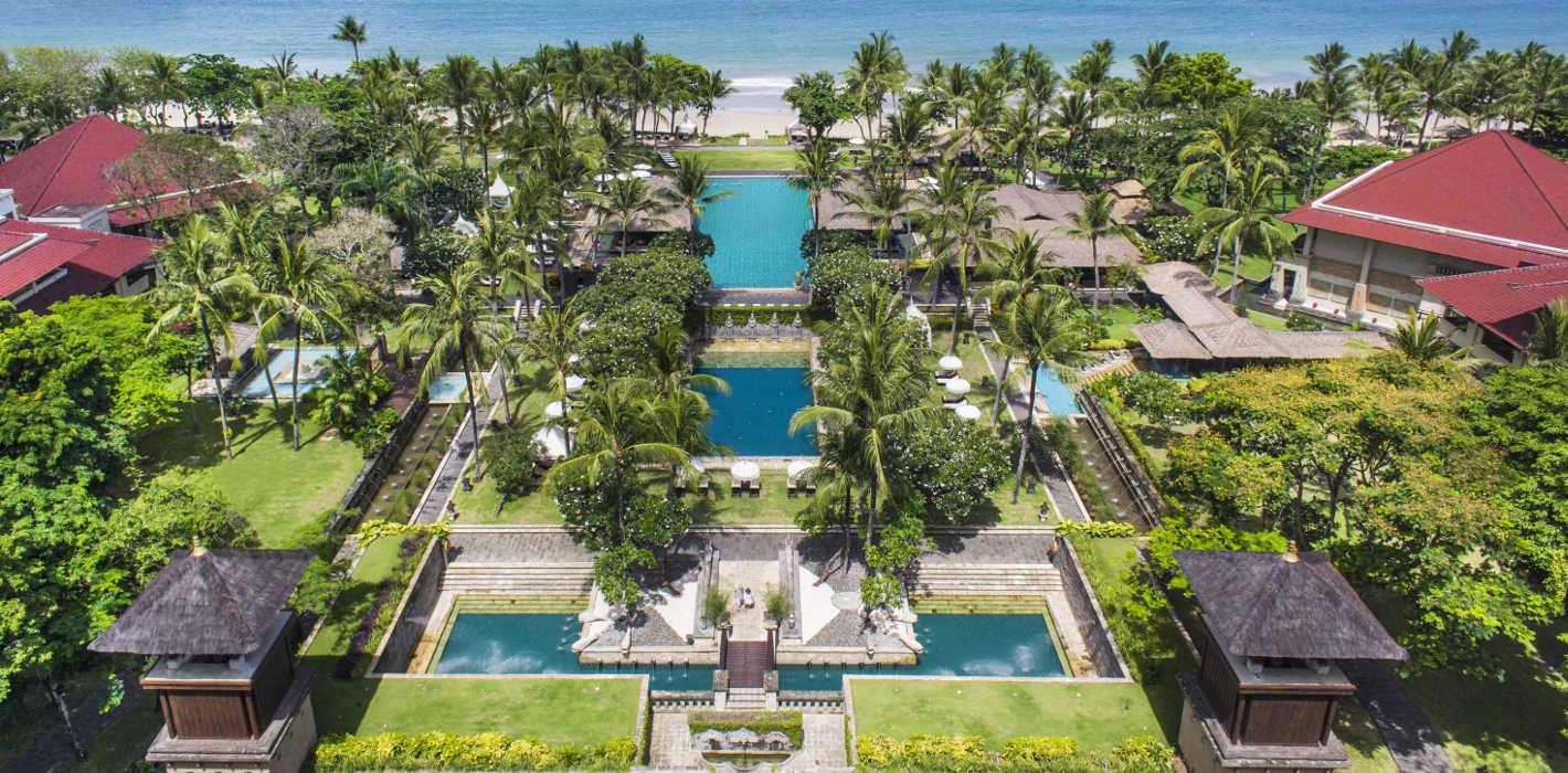 Bali with kids: Intercontinental Bali Resort in Jimbaran is a child-friendly option