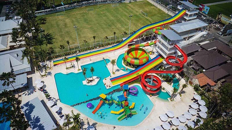 Bali with kids: Splash waterpark at Canggu Club