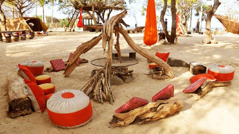 Bali with kids: Pirates Bay is not just for kids