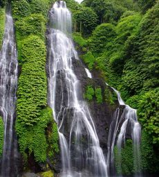 Banyumala twin waterfall in Buleleng, Bali