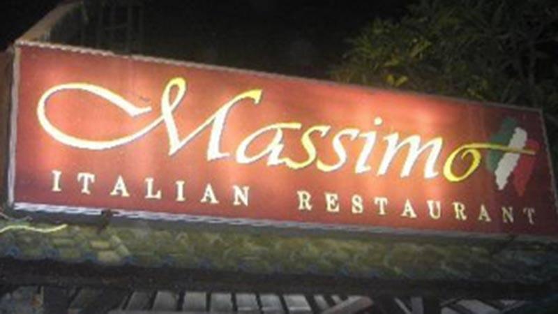 Best pizza in Bali: Massimo restaurant in Sanur