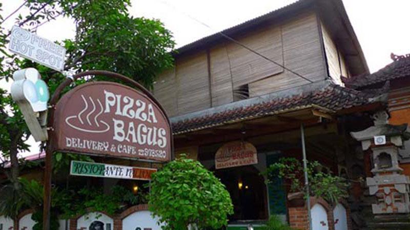 Best pizza in Bali: Pizza Bagus in Ubud is very popular