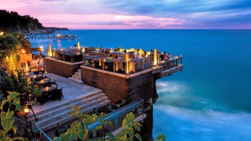Best rooftop bars in Bali: A classy evening at Rock Bar in Jimbaran