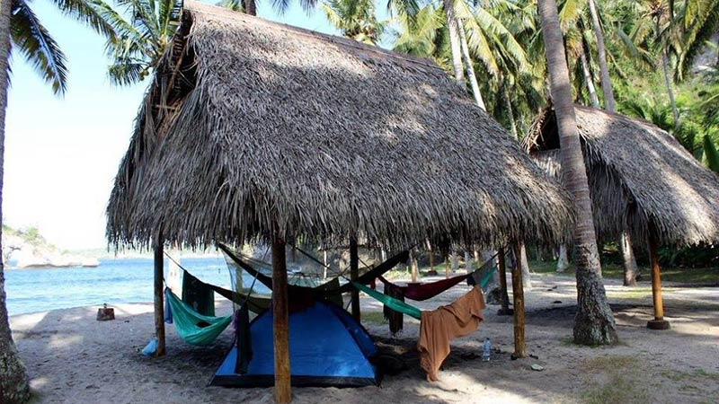 Camping in Bali: Crustal Bay on Nusa Penida