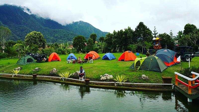 Camping in Bali: Taman Denbukit in Bedugul