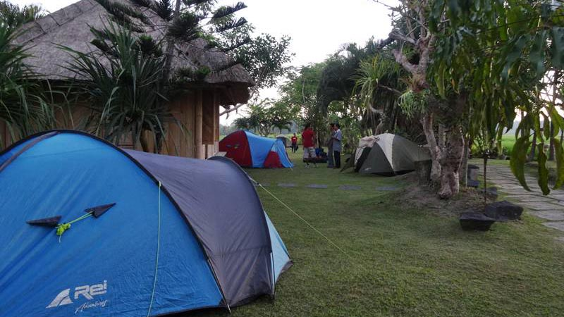 Camping in Bali: UbudCamp in Bongkasa village
