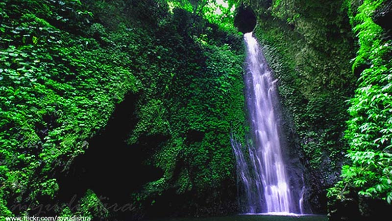Munduk and Melanting waterfalls in Munduk village, Buleleng, Bali