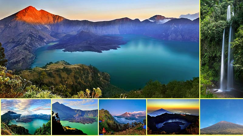 National parks in Indonesia: Mount Rinjani national park