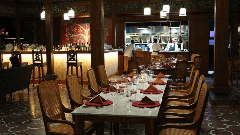 New year's eve 2017: Manisan restaurant at Alaya Ubud