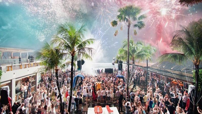 New year's eve 2017: Nikki Beach at Sofitel Nusa Dua