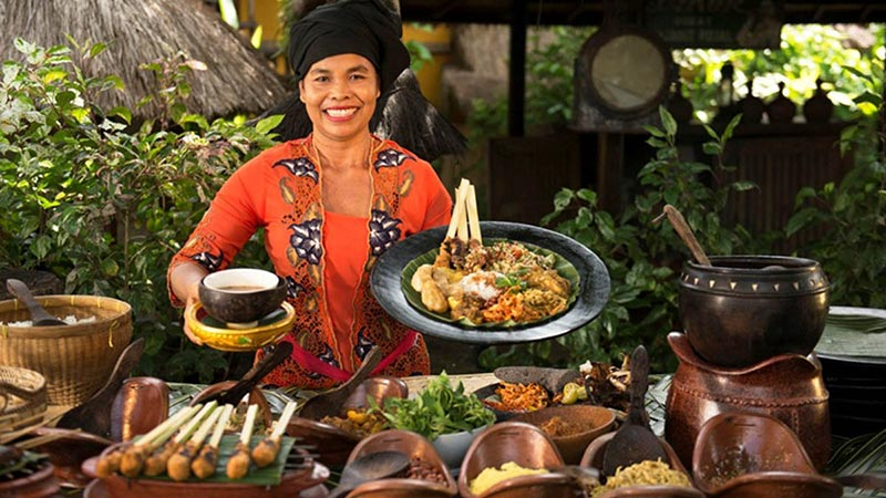 Things to do in Bali when it rains: Traditional Balinese cooking class menu
