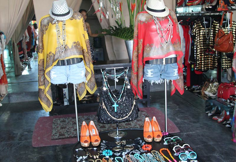 Things to do in Bali when it rains: A small label boutique