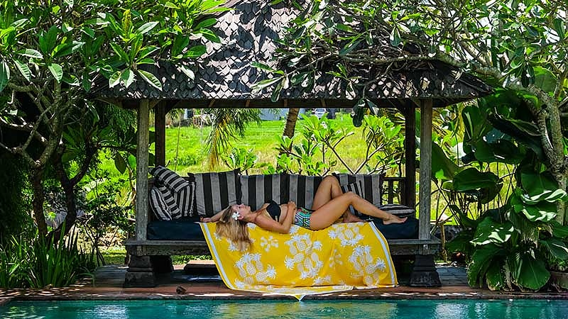 Travelling alone in Bali: Ubud is great for solo relaxation